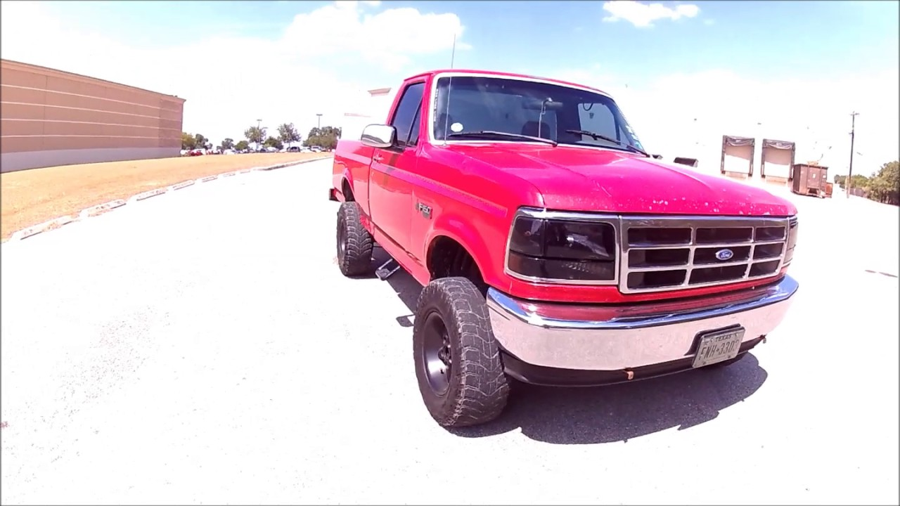 3 Inch Lift Kit For Ford F150 >> Rough country Lift kit review OBS Ford F150 - YouTube
