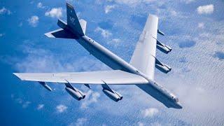 美軍B52同溫層堡壘轟炸機 美國防衛戰略 轟炸機能隨時從更廣泛的海外據點前往印太地區執行任務 美军B52轰炸机满弹频频升空