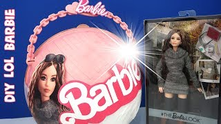 LOL BARBİE SÜRPRİZ DIY Kendim Yaptım 5 Sürprizli Dev Yumurta LOL Big Surprise Customized With Barbie