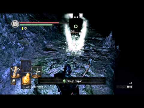 Dark Souls Walkthrough - Everything possible in... Chasm of the Abyss [Artorias of the Abyss] ► 22