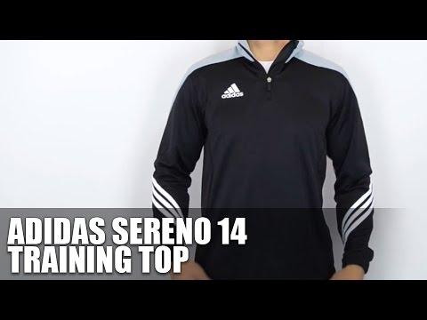 productos de calidad varios tipos de mejores zapatos Adidas Sereno 14 Training Top - Vorstellung - Review - YouTube