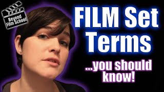 Film Industry #6 Film Set Terms You Should Know!