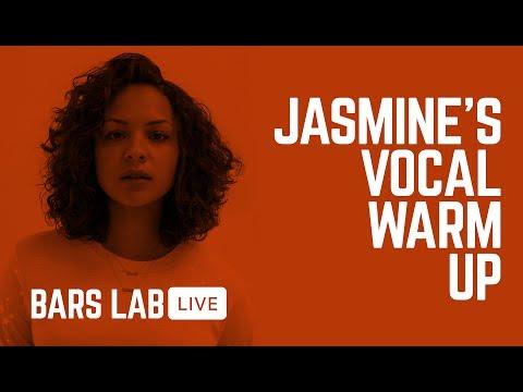 JASMINE TEACHES A VOCAL WARM UP - Jasmine Cephas Jones @ THE BARS LAB
