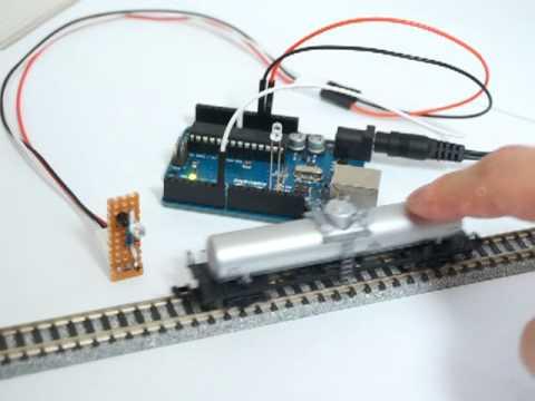 Train detector with IR sensor V2