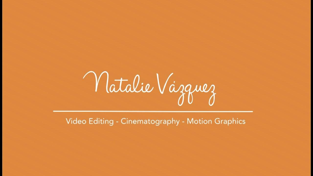 Natalie Vazquez - Motion Graphic Examples