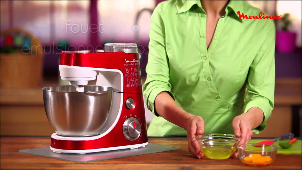 Masterchef Gourmet Moulinex Robot Patissier Youtube