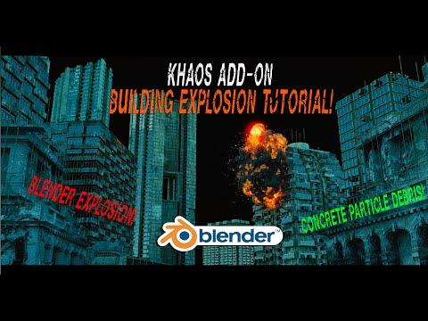 Blender 3d building