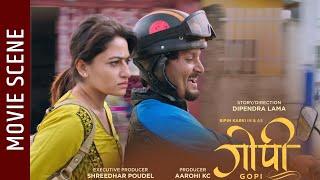 Nepali Movie - Gopi Movie Clip || Bipin Karki, Barsha Raut, Surakshya Panta