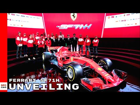 Ferrari F1 SF71H 2018 Unveiling