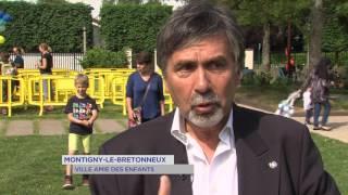 """Montigny-le-Bretonneux : """"ville amie des enfants"""" pour L'UNICEF"""