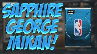 NBA 2K15 MyTEAM SAPPHIRE GEORGE MIKAN! NBA 2K15 My Team New Challenge!
