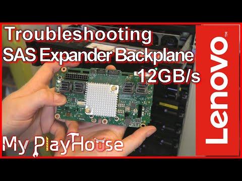 Lenovo X3650 M5 SAS 12GB/s Expander Backplane Troubleshooting - 889