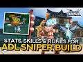 ADL SNIPER GUIDE: Stat, Skill and Rune Build   Ragnarok Mobile Eternal Love
