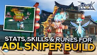 ADL SNIPER GUIDE: Stat, Skill and Rune Build | Ragnarok Mobile Eternal Love