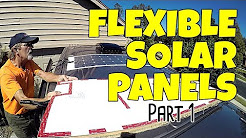 ETFE Flexible Solar Panel Installation - Part 1
