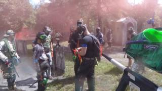 push for the town!!!!!!  on target paintball