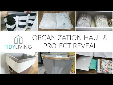 KonMari Organization | Tidy Living Product Haul & Project Reveal