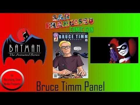 San Francisco Comic Con 2017: Bruce Timm Panel (Last One)