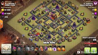 UN PERFECT TH10 EN GOHOG ! Clash Of Clans - Weed Nation S