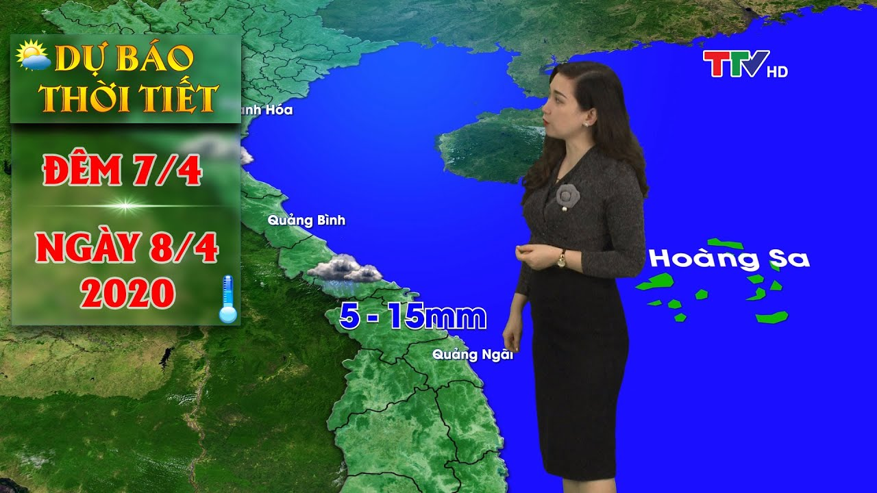 Miền Bắc lạnh, cả nước có mưa dông, đề phòng thời tiết nguy hiểm | Dự báo thời tiết đêm 7 ngày 8/4