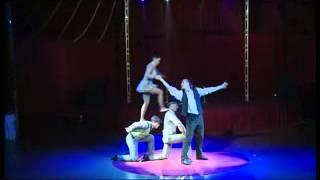 видео Акробатическое шоу, услуги акробатов