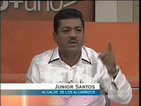 Entrevista a Junior Santos, alcalde de Los Alcarrizos