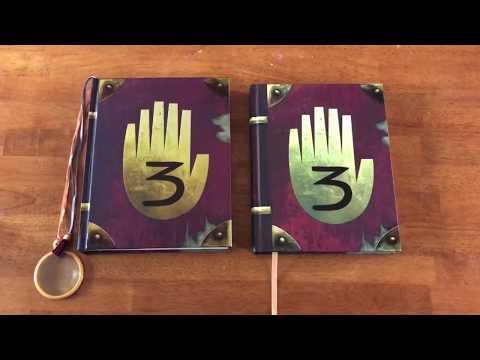 Gravity Falls Journal 3 Limited Blacklight vs. Standard Edition
