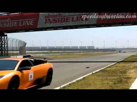 คลิปวีดีโอหวาดเสียว วิ่งตัดหน้ารถแข่ง เกือบโดนชนเละ
