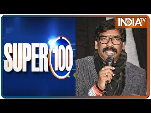 News 100 : Nonstop | December 23, 2019  (IndiaTV News)