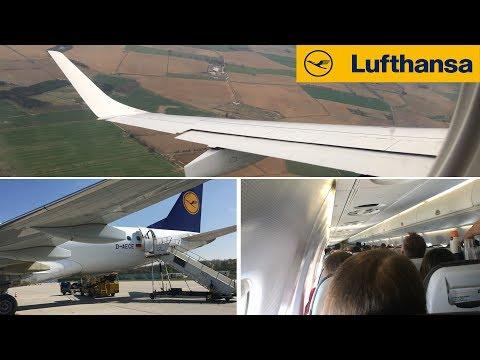 Lufthansa Cityline Embraer 190 Frankfurt To Aberdeen FULL FLIGHT