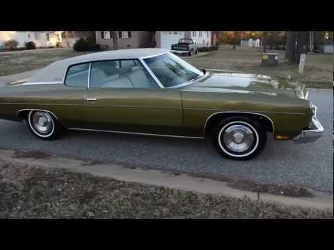 1973 chevrolet impala for sale youtube. Black Bedroom Furniture Sets. Home Design Ideas