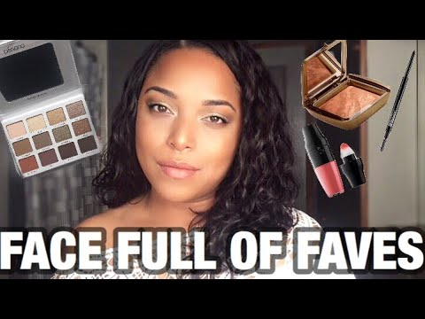 CURRENT FAVORITES I CAN'T PUT DOWN! | PERSONA COSMETICS LANCÔME HOURGLASS | DATE NIGHT LOOK 2018