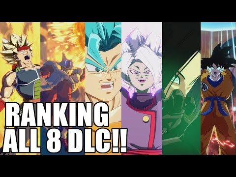 Ranking ALL 8 Season 1 DLC Characters from Weakest to Strongest!!!