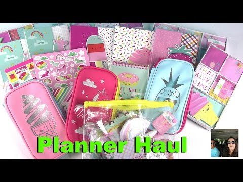 Target Dollar Spot Journal Planner Haul Online Washi Tape & More | PaulAndShannonsLife