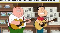 Family Guy Peter and Quagmire song about pooping in strange places