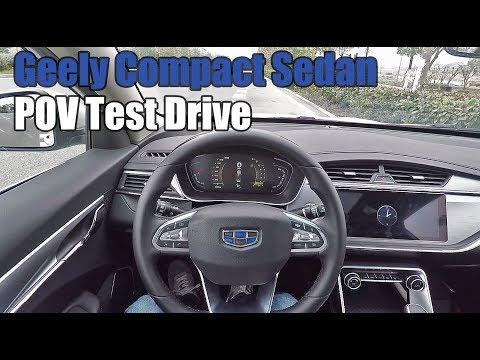 POV Test Drive 2018 Geely Binrui(吉利缤瑞) 1.4T+CVT 133HP!