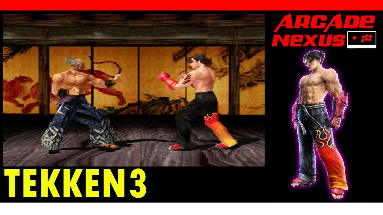 Tekken 3 Stage Jin Youtube