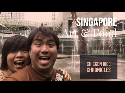 Singapore Part 3 - Biennale and Food | 4K (Ultra HD) Travel Vlog | Chicken Rice Chronicles