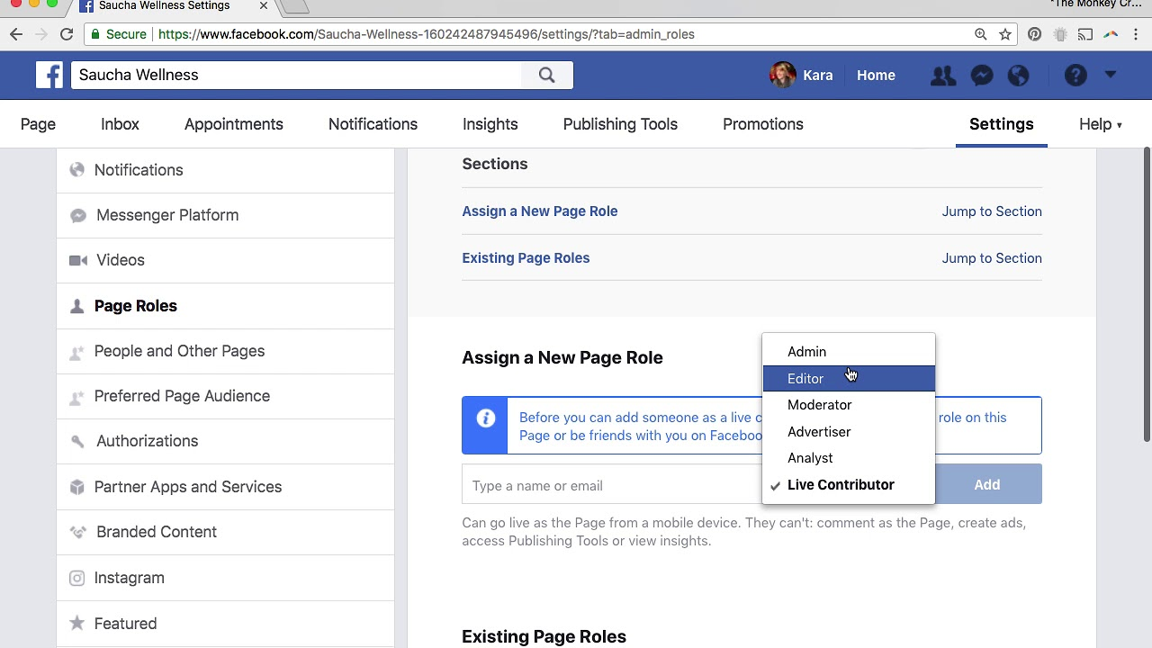 How to Add an Admin or Editor to Your Facebook Business Page