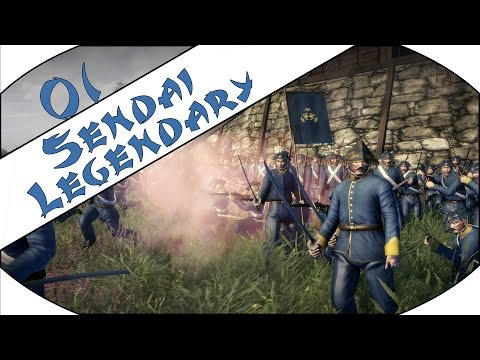 TRADITIONALISTS - Sendai (Legendary) - Total War: Shogun 2 - Fall of the Samurai - Ep.01!