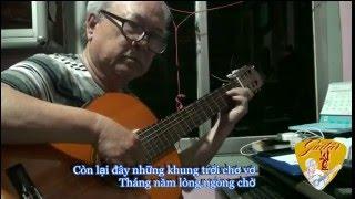 Guitar Solo - HOA TÍM NGƯỜI XƯA (Thanh Sơn) - Lê Vinh Quang