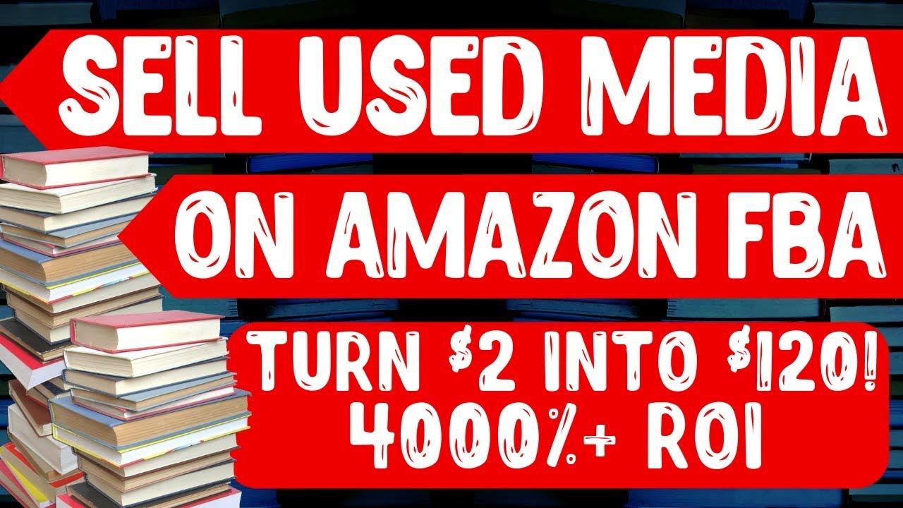 selling books on amazon fba