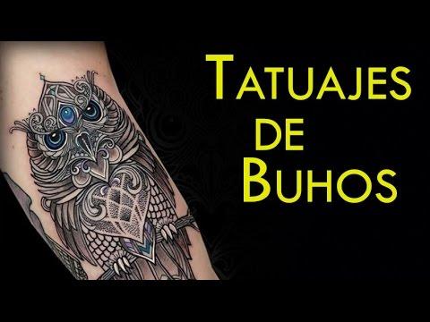 Tatuajes De Buhos Y Su Significado Youtube