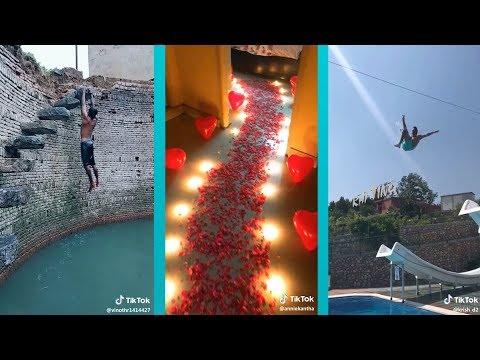 Insane Water Slide Jump + Best of India Tik Tok Compilation