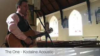 Colin Fahy - The One - Acoustic Weddings YouTube Thumbnail