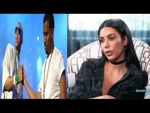 Kanye West Splits From Tidal + Kim Kardashian is PISSED at Jay-z For calling Kanye INSANE!