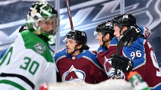 Avalanche bury Stars with 5 goal 1st period