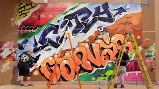 Graffiti Time Lapse at Newfields