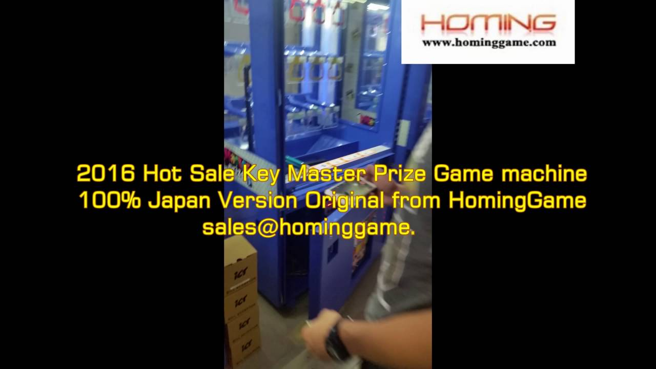 Japan Key Master Arcade Game Machine Japan Version 2016 HomingGame All  star(sales@hominggame com)