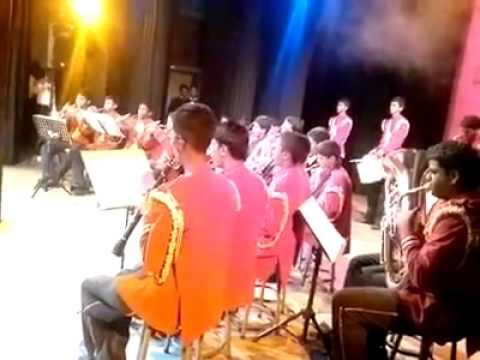 D.S.Senanayake College Western Cadet Band 2013